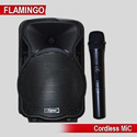 Speaker With Cordless Mic