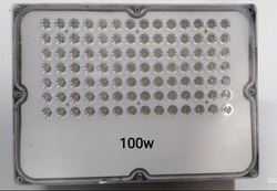 STAR BRIGHT Pure White 100W LENS FLOOD LIGHT, For Outdoor, IP Rating: IP65