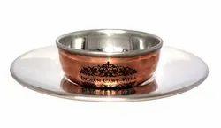 Copper Hammered Finger Bowl