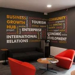Square Printed Wall Graphics