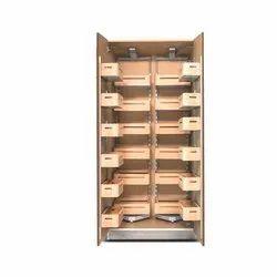 Rectangular Sandal Wood Pantry Unit, for Home, Hotel