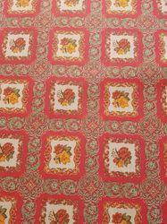 Rajdhani Red Printed Carpet