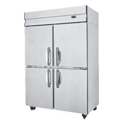Stainless Steel Four Door Vertical Chiller