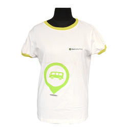 Round Printed Commercial Half Sleeve T-Shirt, Size: S-XL