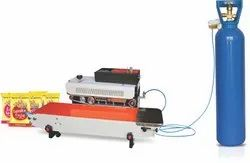 GAS Flush Continuous Sealer Machine Machine