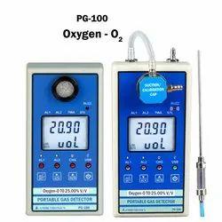 Portable Oxygen Gas Detector PG-100-O2