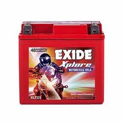 Exide Xplore Bike Battery, Capacity: 4 Ah