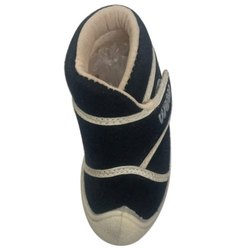 Daily wear Black Kids Canvas Shoes