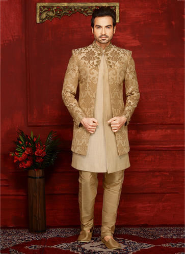 78f0b3071f Sherwani - Designer Reception Wear Indo Western Style Wholesale ...