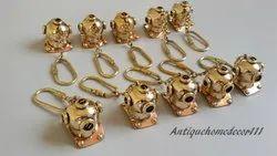 D3 Mart Collection Divers Helmet Key Chain Brass Handmade Lot Of 10 Pcs Best Gift