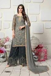 Pr Fashion Launched Beautiful Designer Palazzo Suit