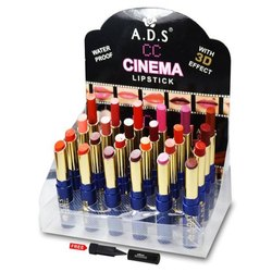 3.5gm ADS CC Cinema 3D Effect Waterproof Lipstick
