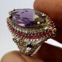 Gemstone Turkish Silver Ring