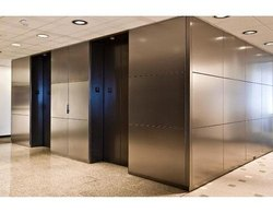 Matt & Mirror Stainless Steel Structure Fabrication, in Globe