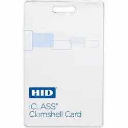 One Sided HID Iclass access card, Shape: Square, Model Name/Number: HIA2080CMSSV