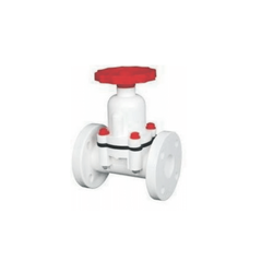 PP Diaphragm Valve Flange End