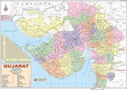 Gujarat For Political State Map