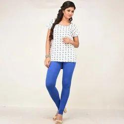 Churidar More than 60 colors available Cotton Lycra Leggings