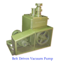 Aluminium Single Stage Belt Driven High Vacuum Pump, Automation Grade: Automatic, For Industrial