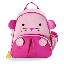 Pink Rabbit Small School Bag