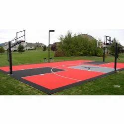 Basketball Court Mat