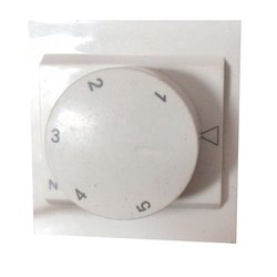 White 5 Step Fan Regulator