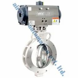Pneumatic Actuator Triple Offset Butterfly Valve
