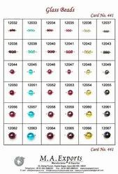 Small Size Round Glass Beads With Polish