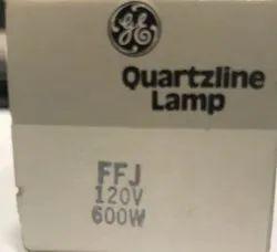 GE Halogen Lamp FFJ 120v 600w R7s