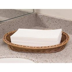 White Cotton Napkins, Size: 12 X 12 Inches