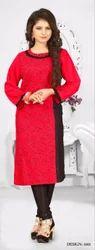 Digital Printed, Printed Ladies Cotton Kurtis In Nice Design And Quality