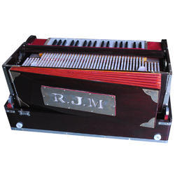 4 Line 13 Scale Portable Harmonium With Coupler