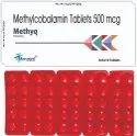 Methyq Methylcobalamin 500mcg (colour : Sunset Yellow), 4x5x10, Packaging Type: Blister