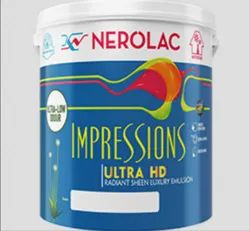 Nerolac Impression Ultra HD Paints, Packaging Type: Bucket