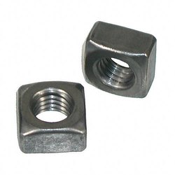 Polished Stainless Steel Square Nut, Thickness: 5-6 Mm (wall)
