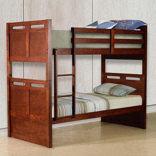 Wooden Bunk Bed Size Dimension 6 3 Feet Projectia Interiors Private Limited Id 19208569712