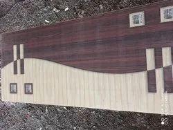 Coated Wooden Door