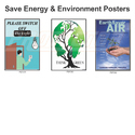 Save Energy & Environment Posters