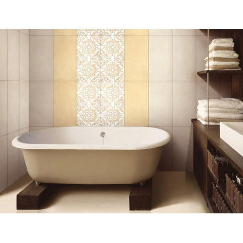 washroom wall tile at rs 35 square feet  bathroom tiles