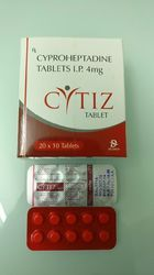 Cyproheptadine Tablets IP 4 mg