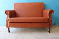 Unique 2 Seaters Modern PU Leather Sofa Set For Living Room
