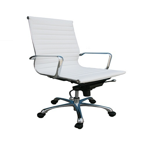 White Pp Fancy Office Chair Rs 5200 Piece Zikra Enterprises Id 16587051391