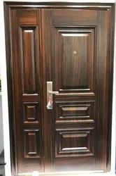 Metal Hinged Steel Safety Door, For Home, Size: 2050*1200,2050*960,2050*1050mm