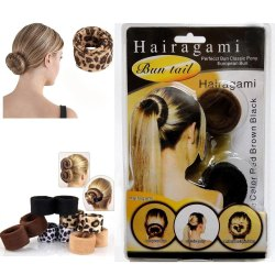 Hairagami Bun Tail- Fold, Wrap & Snap Styling Tool