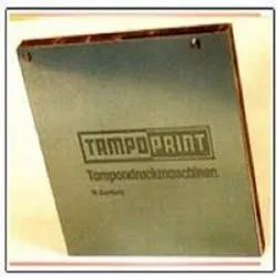Tampo Print Printing Plates, for You can make your own plates in-house with the exposure unit