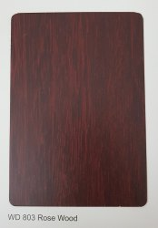 Wd-803 Rose Wood ACP Sheets