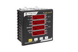 Three Phase Energy Meter Dual Source LED VIPS 84D