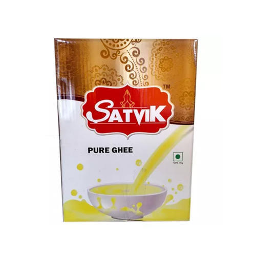 Satvik 15 kg Pure Buffalo Ghee, Packaging: Tin