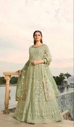 Pr Fashion Launched Designer Floor Length Suit