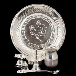Silver Pooja Thali